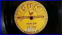 Elvis Presley Sun Records Original 78 RPM-I Forgot to Remember. Mystery Train