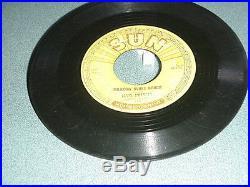 Elvis Presley Sun label 45 rpm records