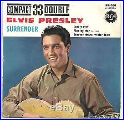 Elvis Presley Surrender Compact 33 EP from France scarce