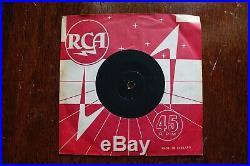 Elvis Presley Teddy Bear 7 Single 45rpm PROMOTIONAL COPY. RCA H2WW-2193-2C 1957