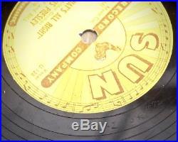 Elvis Presley That's All Right / Blue Moon of Kentucky Sun 78 (1954 Original)
