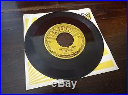 Elvis Presley That's All Right / Blue Moon of Kentury SUN 209 (1954 Original)