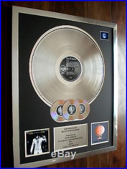 Elvis Presley That's The Way It Is Lp Multi Platinum Disc Record Award Album