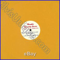 Elvis Presley That's When Your Heartaches Begin Unreleased Sun Acetate