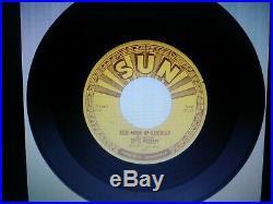 Elvis Presley Thats All Right/blue Moon Of Kentucky 1954 Sun 45 Original Nm