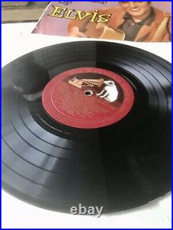 Elvis Presley The Best Of Elvis UK 1957 HMV 1st Press 10 LP SUPER VINYL