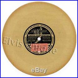 Elvis Presley The Elvis Presley Show June 3, 1956 Rare Tan Promo Single