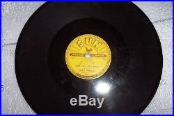 Elvis Presley The Holy Grail Original 78 RPM Sun Record Baby Lets Play House