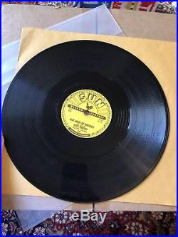 Elvis Presley The Holy Grail Original Sun Record Thats All Right 78 RPM 1954
