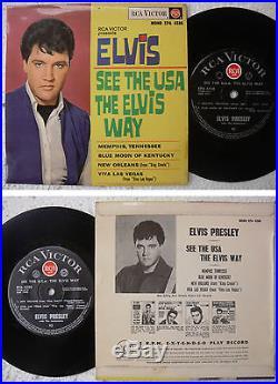 Elvis Presley The ZElvis Way New Zealand 7 EP