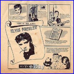 Elvis Presley This Is His Life RARE 1955 RARE EARLY SLEEVE