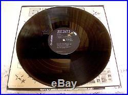 Elvis Presley Today 1977 Rca Apd1-1039 Black Label Quadradisc $300 Book