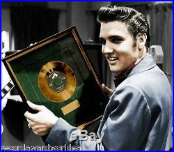 Elvis Presley Too Much 45 Gold Non RIAA Green Record Award RCA Records