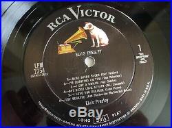 Elvis Presley USA 1st Album March 1956 Album LPM 1254 Excellent- Vinyl