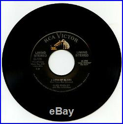 Elvis Presley USA 45 RCA 61-7777 It's Now Or Never 1960 SUPER RARE LIVING STEREO