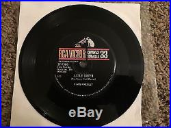 Elvis Presley Ultra Rare Compact 33rom Record. Latest Flame/Little Sister