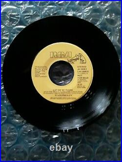 Elvis Presley Very Rare Let Me Be There Promo 45 Mono/stereo 1974 Ex- Near Mint