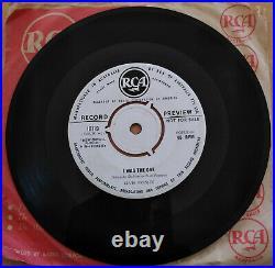 Elvis Presley Very Scarce White Label Promo Heartbreak Hotel 1956 Australia Rca