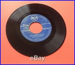 Elvis Presley- Very, Very Rare Original Belgium Love Me Tender