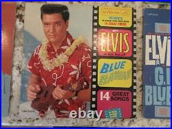 Elvis Presley Vintage 33 RPM Vinyl Albums Lot of Six