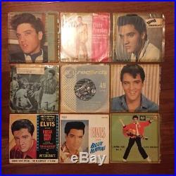 Elvis Presley Vinyl 7inch Singles (Lot of 29 Records)