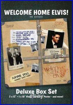 Elvis Presley WELCOME HOME ELVIS! DELUXE BOX SET EX LTD PRE ORDER