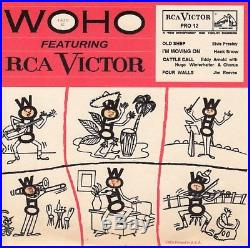 Elvis Presley WOHO Featuring RCA Victor RCA Victor PRO 12 Old Shep 1956