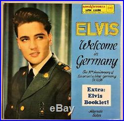 Elvis Presley Welcome In Germany Roma Victoria LPM 11058 + Booklet TOP