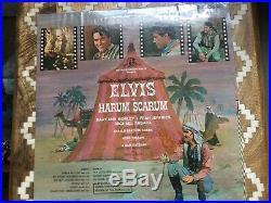 Elvis Presley album harum scarum sealed LPM with sticker and photo