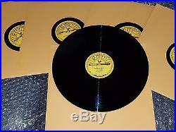 Elvis Presley complete set of 5 SUN repro 78 RPM records rare new set BLACK