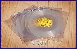 Elvis Presley complete set of 5 SUN repro 78 RPM records rare new set CLEAR