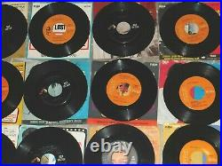 Elvis Presley-lot Of 20 45 RPM Records With Picture Sleeves