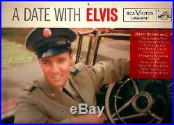 Elvis Presley' (lp) (a Date With Elvis)'rca Lpm-2011''rare
