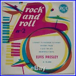 Elvis Presley-mega Mega Rare Fifties Ep From France-mint Minus