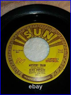 Elvis Presley-mystery Train/i Forgot To Remember To Forget-sun 223- Rockabilly