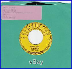 Elvis Presley-mystery Train-original Sun 45 223 Grt Graded 9 Great Rockabilly