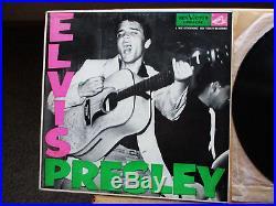 Elvis Presley orig 1s / 3s P. D. Label withrice inner Elvis Presley LPM-1254