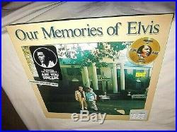 Elvis Presley-our Memories Of Elvis-rca Aql1-3279-rare Hype-new Sealed Vinyl Lp