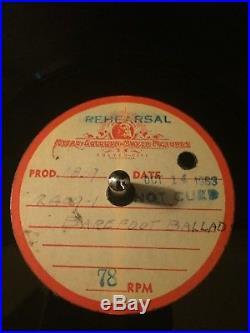 Elvis Presley rare ANYONE & Barefoot Ballad acetate Kissin' Cousins MGM HEAR