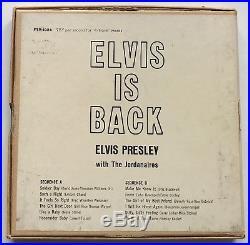 Elvis Presley-rare Living Stereo Reel To Reel
