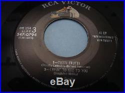 Elvis Presley self titled dbl 7 45 EP EPB-1254 1956