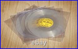 Elvis Presley set of 5 sun 78RPM brand new mint rare repro set clear vinyl
