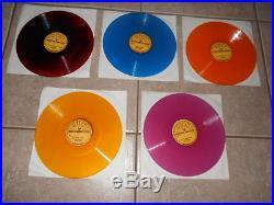 Elvis Presley set of five Sun label 10 78 rpm bootleg VG+-EX reduced price