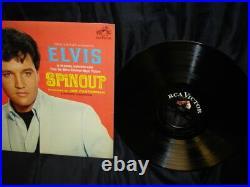 Elvis Presley-spinout Vinyl Lp With Full Color Bonus Photo Lpm-3702