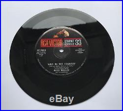 Elvis Presley-uber Uber Rare Compact 33 Wild In The Countrmint Minus