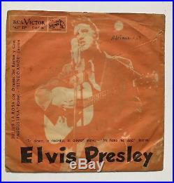 Elvis Presley-uber Uber Rare Ep From Chile-very Very Very Tough To Find