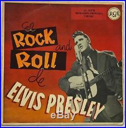 Elvis Presley-very Tough To Find Original Spanish Ep-rock N Roll