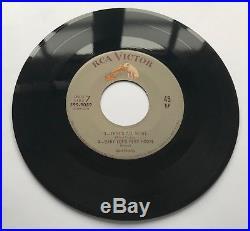 Elvis Presley-very Tough To Find Spd 15 Grey Label Single