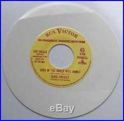 Elvis Presley-very Very Tough To Find Coloured Vinyl Single