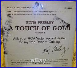 Elvis PresleyA Touch of Gold Vol 2 IIRCA Victor EPA-5101 In Picture Sleeve NM